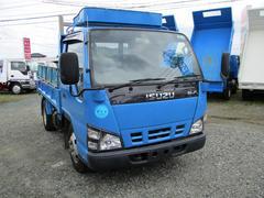 エルフトラック2t低床ダンプ HSA ASR