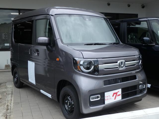 ホンダ N-VAN+スタイル ファン 届出済未使用車 バックカメラ オートライト ソナー