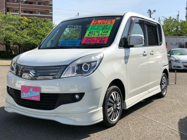 スズキ S CVT車 Pスタート電動スライド純正エアロ SDナビTV