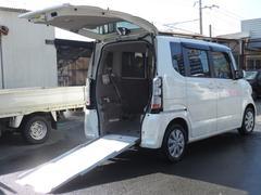 N BOX+G 車いすスローパー 福祉車両 ナビ 左側パワースライドドア