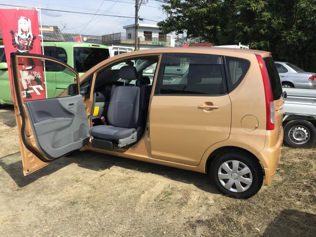 ダイハツ  4WD 助手席回転スライドシート 車検整備付き リモコンキー