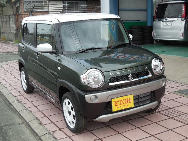 「スズキ」「ハスラー」「コンパクトカー」「熊本県」の中古車