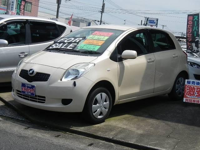 トヨタ F CVT キーレス CD ABS ワンオーナー