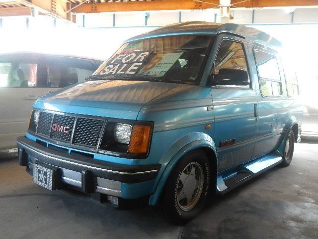 GMC スタークラフト キャンピング 左ハンドル 背面タイヤ アルミ