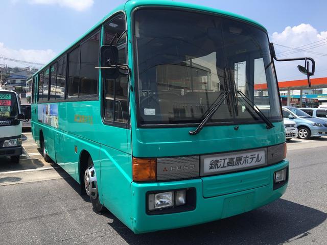 三菱ふそう 三菱ふそう 42人乗りバス ホテル送迎使用 エアコン パワステ