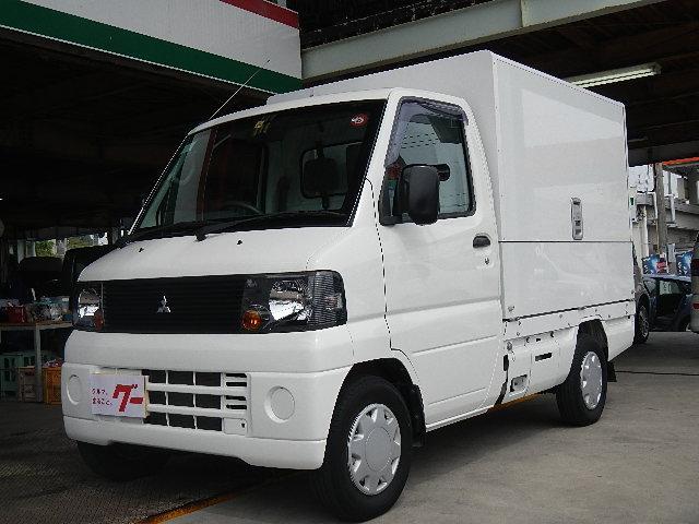 三菱 ウィング車 100V電源有 エアコン パワステ MD再生