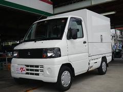 ミニキャブトラックウィング車 100V電源有 エアコン パワステ MD再生