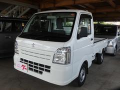 キャリイトラックKC 4WD MT5速 エアコン パワステ エアバック ゲートプロテクター 低走行車