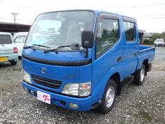 ダイナトラック5MT ディーゼル 4WD Wピック フル装備 ABS
