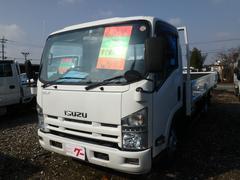 エルフトラック2t ワイドロング高床 6MT フル装備 キーレス
