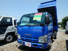 エルフトラックダンプ 3t 6MT フル装備 キーレス ABS