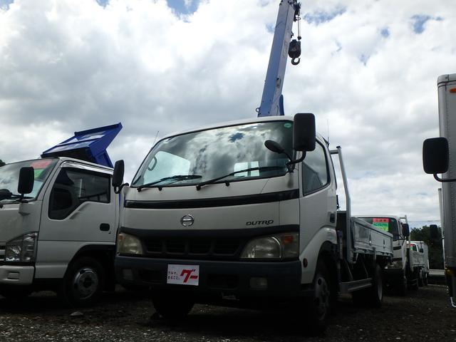 日野 3段クレーン車 5MT フル装備 ETC