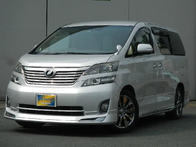 トヨタ 2.4X 両側Pスライド メモリーナビフルセグTV 社外AW