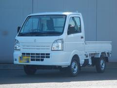 キャリイトラックKCエアコン・パワステ 4WD 届出済み未使用車 5速MT