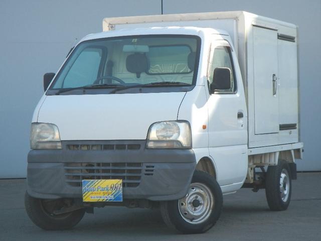 スズキ キャリイトラック  冷蔵冷凍車 5速ミッション エアコン パワステ 最低温度-5℃です