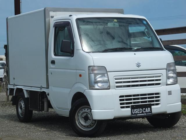 スズキ 冷蔵・冷凍車 5MT・2WD・エアコン・パワステ