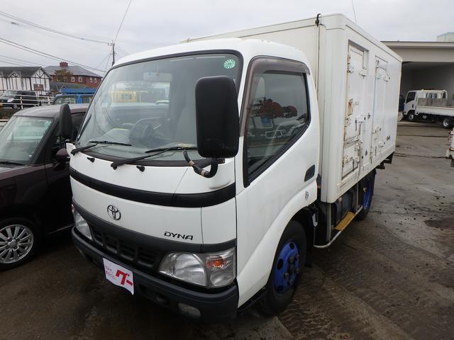 トヨタ 3t 冷蔵冷凍車 5速MT バックカメラ