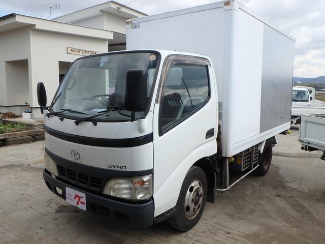 トヨタ 冷凍冷蔵車 フル装備 Wタイヤ 2t