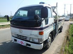 ダイナトラック3段ユニック 5速MT フル装備 ラジオ