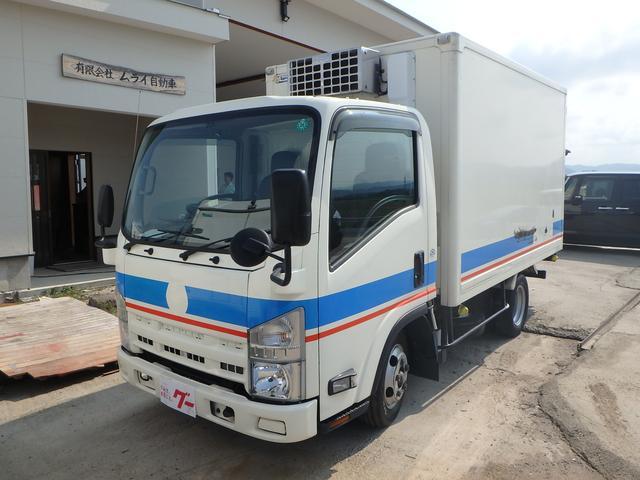 いすゞ 冷蔵冷凍車 5速MT ETC フル装備 Wタイヤ エアB