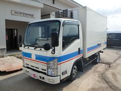 エルフトラック冷蔵冷凍車 5速MT ETC フル装備 Wタイヤ エアB