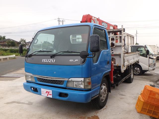 いすゞ 5段ユニック 6速MT Rハイジャッキ ETC 3.5t
