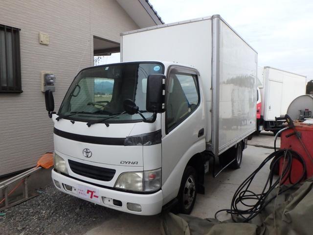 トヨタ 1.5t フル装備・Wタイヤ・パネルバン・ラジオ・5速MT
