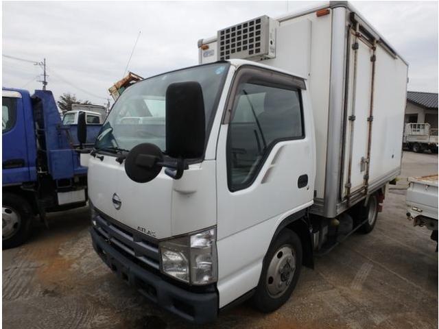 日産 アトラストラック 2t 冷蔵冷凍 マイナス30度設定 4WD スムーサーEX
