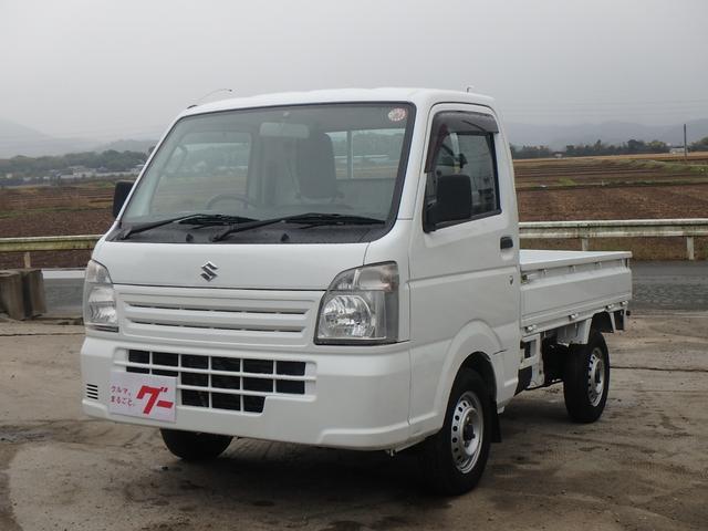スズキ KCエアコン・パワステ オートマ ドアバイザー 2WD