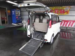 スペーシアX 車いす移動車リヤシート付き 左側パワースライドドア