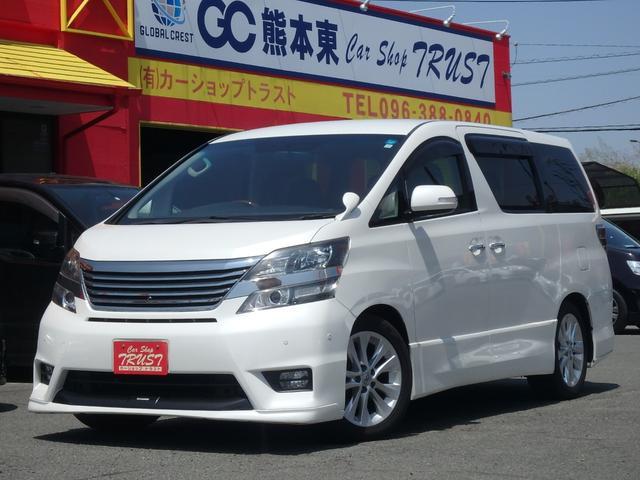 トヨタ 2.4Z プラチナムセレクション TRDエアロ メーカーナビ