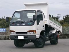 エルフトラック2t 高床 強化ダンプ 4WD