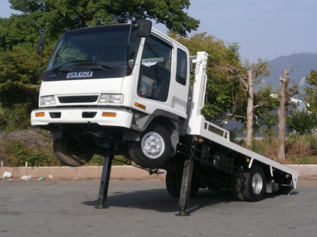 いすゞ 重機運搬車 3.4t積載