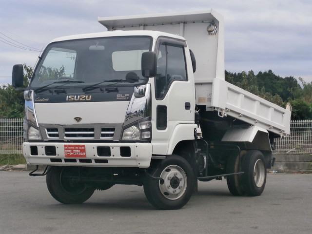 いすゞ カスタムワイド 3.5t 4WD 高床ダンプ