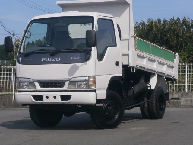 いすゞ 2t 高床強化ダンプ 4WD