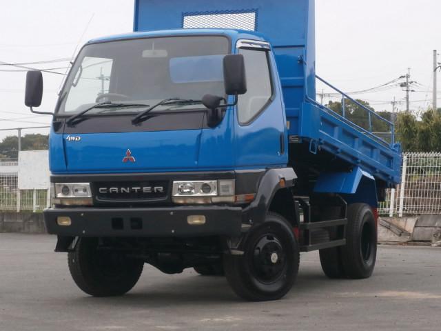 三菱ふそう 2t 高床強化 4WD ダンプ