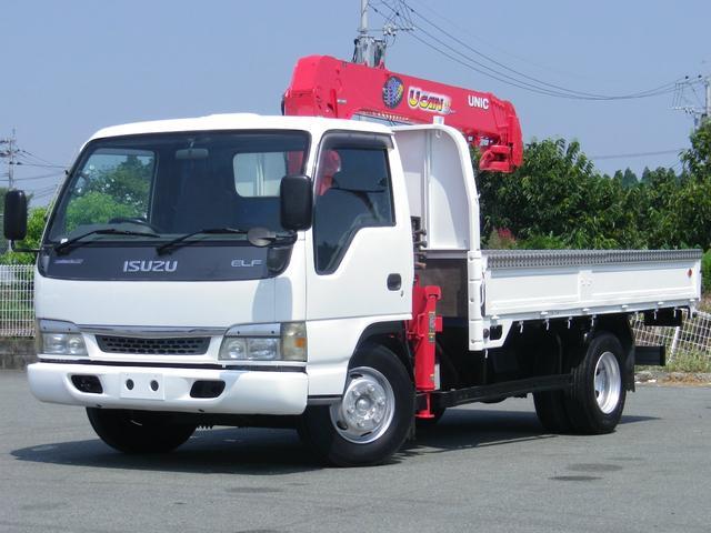 いすゞ エルフトラック  3.5t ワイドロング 5段フックイン ラジコン