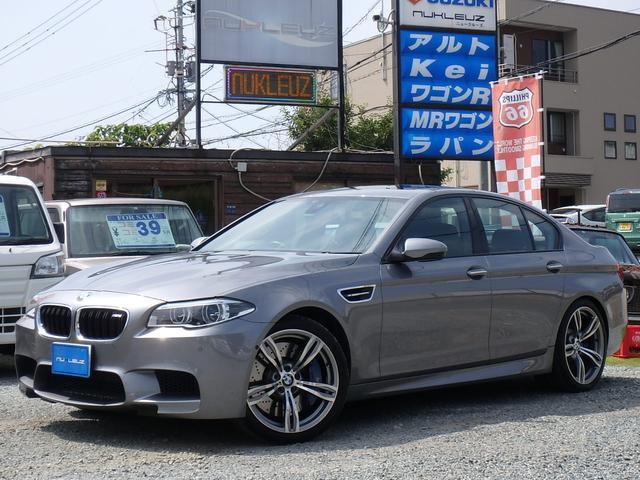 BMW M5 アドバンスドアクティブPKG レザーシート サンルーフ
