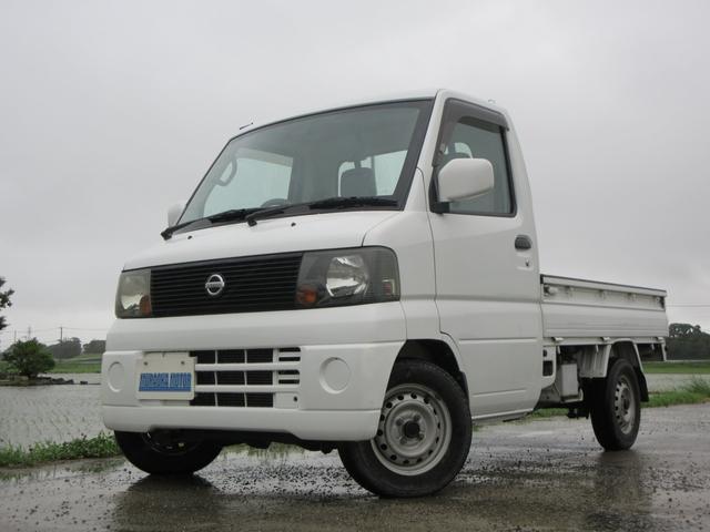 日産 クリッパートラック GL エアコン・パワステ・4WD
