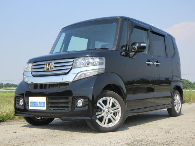 ホンダ N-BOXカスタム G・Lパッケージ CD・ワンセグTV・バックカメラ・スマートキー・オートライト・HID・ETC
