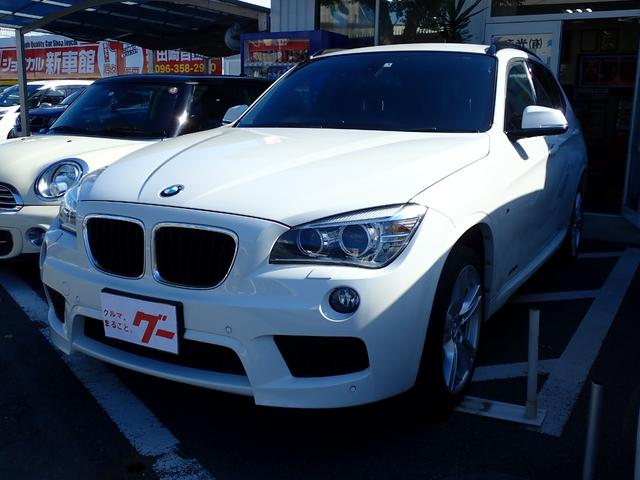 BMW X1 sDrive 18i Mスポーツ HDDナビフルセグTV Bluetooth対応 バックカメラ スマートキー 取扱説明書 整備点検記録簿