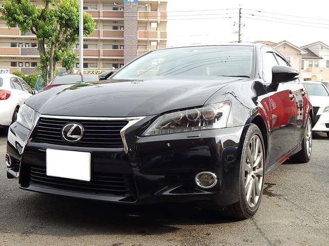 レクサス GS250 Iパッケージ 純正ナビTV 黒革Pシート SR
