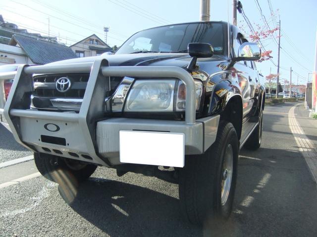 トヨタ ダブルキャブ ワイド  リフトアップ ムーンルーフ