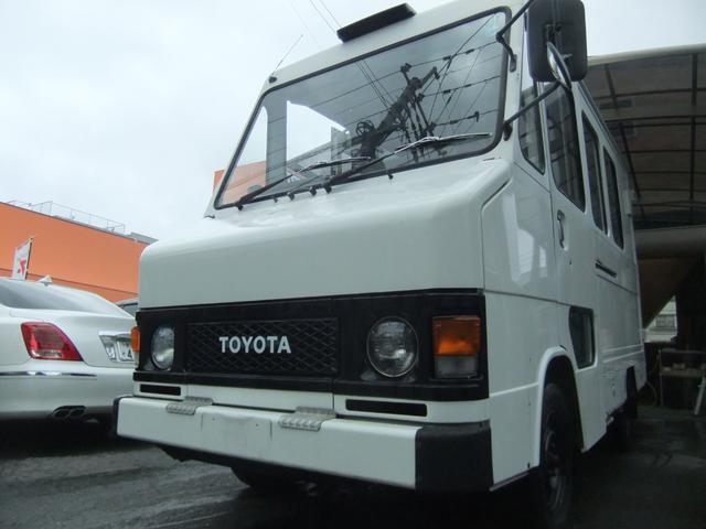 トヨタ キッチンカー コラムオートマ エアコン 移動販売車
