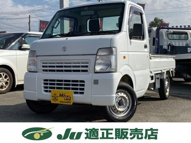 スズキ KC エアコン パワステ 4WD 5速マニュアル 3方開