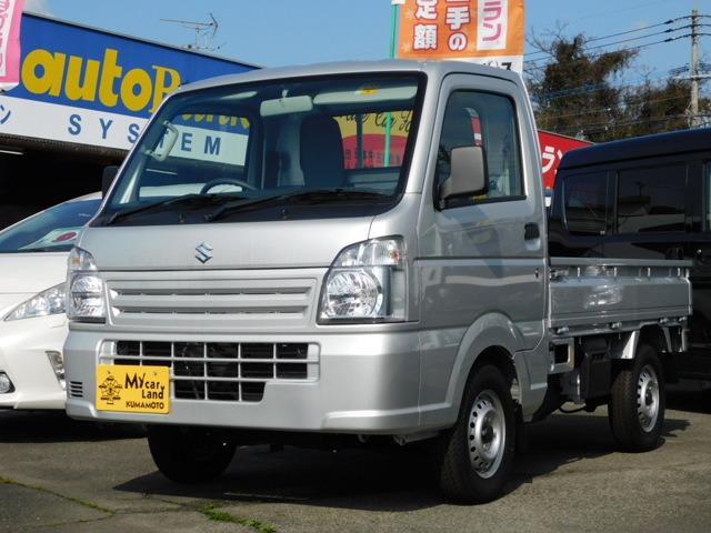 スズキ KCエアコン・パワステ 4WD 3方開 5速マニュアル