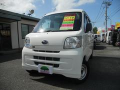 サンバーバントランスポーター 4WD 5速MT ナビ テレビ PW