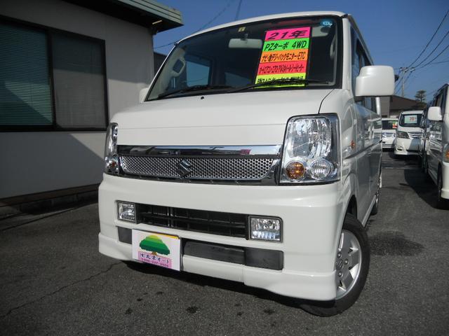スズキ PZターボ 4WD ナビ テレビ 自動ドア  エアロ