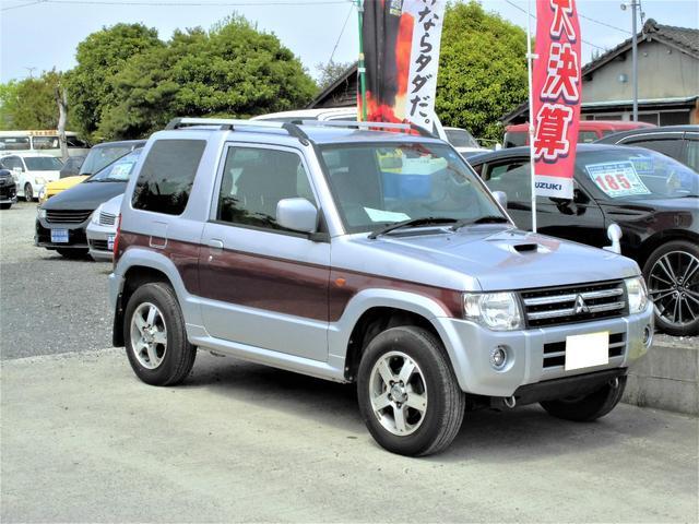 三菱 エクシード 4WD キーレス 背面ハードカバー 純正15AW