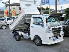 ハイゼットトラックワンオーナー 架装PTOダンプ 5速車 SDナビ Bカメラ
